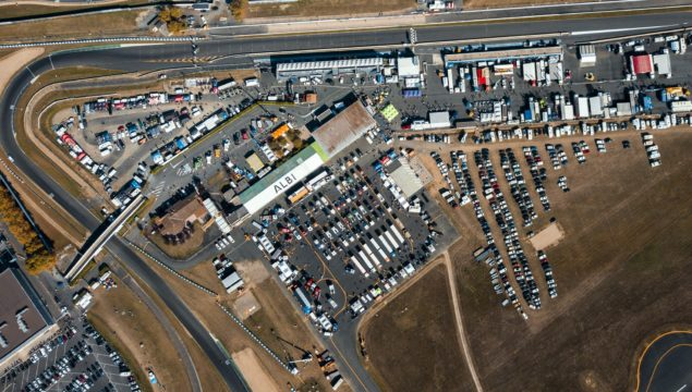 Grand prix camions photo drone transports roucayrol